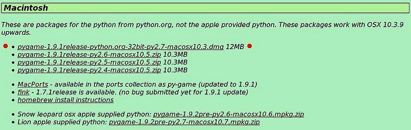 Install pygame python 2 7 mac | Peatix